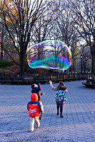 Kids in Central Park, New York